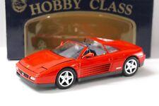 1:18 mira FERRARI 348 TS RED NEW in Premium-MODELCARS