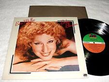 """Bette Midler """"Broken Blossom"""" 1977 Pop LP, VG+, Original Atlantic Pressing"""