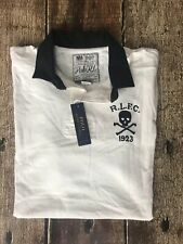 Polo Ralph Lauren Classic Skull Rugby Shirt White Mens Xl New