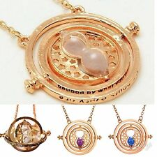 Harry Potter necklace Time Turner Hermione Granger Rotating 3 colors USA Seller