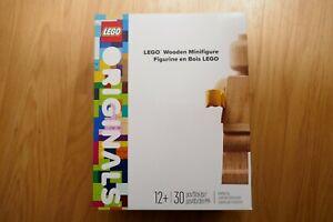LEGO Originals 853967  Mini Figurine en bois  Édition limitée Neuf, taille 20 cm