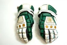 Brine Lacrosse padded gloves model Lglkin92Fg Size Large ~ Green / White