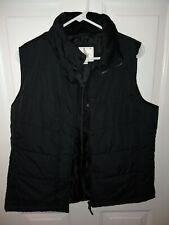 Van heusen puff Vest Ladies Size Medium Black Great Condition