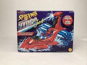 Genuine Toy Biz Spider Man Motorized HYDRO Jet Water Shooting Ride Action Toy