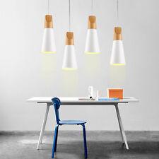 Kitchen Pendant Light Room Ceiling Lights Bar Wood Lamp White Pendant Lighting
