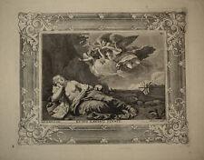 Santa Maria Maddalena prenner magdalena radierung stampa antica old print