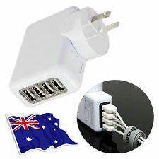 4 USB Port AC Wall Charger for Apple iPhone 6s 6 7 Plus iPad Air Mini Samsung