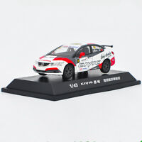 1/43 Honda Civic 9th generation 2015 Touring car #10 Diecast Car Model