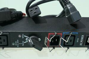 EATON HotSwap MBP 6x IEC Bypass PDU Power Distribution For UPS upto 3kVA