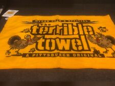 Pittsburgh Steelers Thanksgiving Terrible Towel Official New with Tags NWT