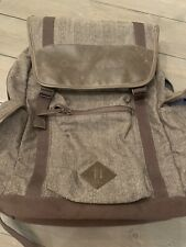 Rare GOOGLE Backpack Advance Visibility Laptop Bag Tweed Cutter & Buck
