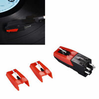 Universal 3pcs Retro Record Player Stylus Turntable Replacement Recorder Needle