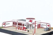 JL Innovative 431 HO Storm Lake Mobil Vintage Gas Station Wooden Kit