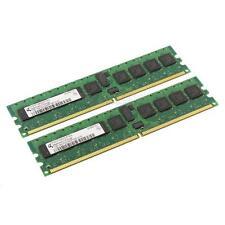 Qimonda DDR2-RAM 2GB-Kit 2x1GB PC2-5300P ECC 1R - HYS72T128000HP-3S-B