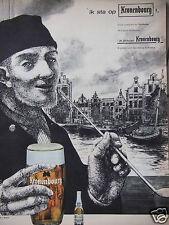 PUBLICITÉ 1962 IK STA OP KRONENBOURG VOILA COMMENT ON LE DIT EN HOLANDE - ADS