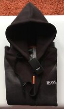 Mens Hugo Boss Hoodies Jumper Sweater Long Sleeve Black Size XXL RRR £140.00