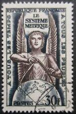FRANCE-1954-Système métrique N°998 oblitéré