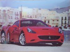 Immagine lenticolare 3D Rosso Ferrari Taglia 39x29 CM CIRCA NUOVO