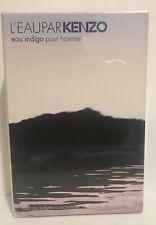 L'eau Par Kenzo Eau Indigo Pour Homme 1.7oz Edt Concentree Spray.