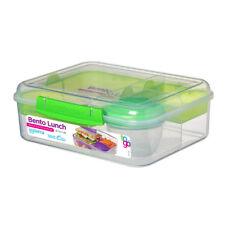 Almuerzo bento sistema para ir, Verde Lima Lunchbox trabajo viajar escuela sobre la marcha
