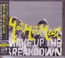 HOT HOT HEAT Make Up The Breakdown JAPAN CD SEALD BONUS