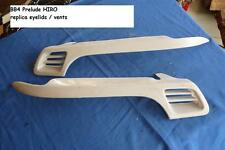 JDM Honda Prelude BB1 bb4 92-96'  Hiro eyelids eye lids air vents duct intake