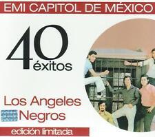 Los Angeles Negros CD NEW 40 Exitos BOX SET Con 2 CD's 40 Canciones !