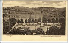 STUTTGART ~1910/20 Residenz Schloß Platz Verlag Haufler alte Postkarte