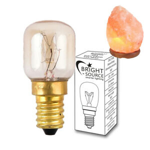 Himalayan Salt Lamp Replacement Bulb E14 15W Pygmy SES Small Edison Screw 240v