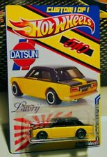 Hot Wheels Exclusive '71 Datsun Bluebird 510 from 50 Car Display Case VHTF