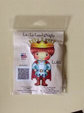 La La Land Prince Luka Rubber Craft Stamp Rare USA