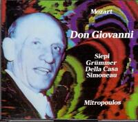 Mozart: Don Giovanni / Mitropoulos, Siepi, Grummer, Della Casa, Salisburgo 56 CD
