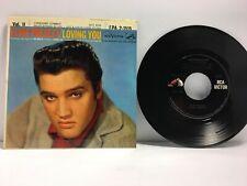 Elvis Presley - Loving You Vol II EP 45 - RCA EPA 2-1515 - Beautiful EX Vinyl!