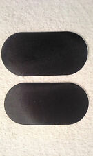 Drum pedal dot Double, Drum pedal Patch, Black Nylon, NEW, PACK OF TWO (2)