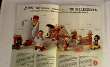 1966 Liddle Kiddles Dolls Ad 2-pages Fr. Children's Magazine