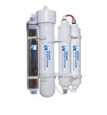75 GPD Portable Aquarium Mini Reverse Osmosis RODI Filter Water System 4 Stage