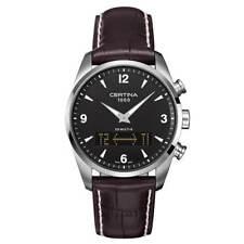 Certina Men's Watch DS Multi-8 Ana-Digi Dial Brown Strap C020.419.16.057.00