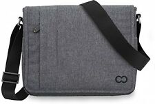 Horizontal Messenger Bag MacBook Pro/Air 13 CaseCrown Campus Charcoal Gray