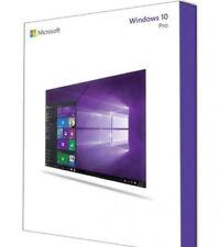 MICROSOFT   WINDOWS WIN 10  PRO Multi 32 64BIT  Licenza originale ESD-Pack