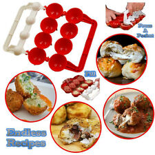 DIY Meat Meatball Mould Maker Fish Ball Burger Mold Kitchen Gadget Cooking Tool