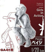 1/20 Paige Girls in Action Resin Model Kits Unpainted GK Unassembled
