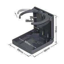 1x Universal Adjustable Folding Cup Drink Holder Car Truck Boat Camper RV Black