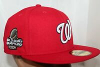 Washington Nationals MLB New Era World Series On-Field 59Fifty,Cap,Hat