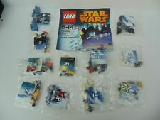 Star Wars LEGO 11 x Micro Models Only from 2014 Advent Calendar 75056 Un-used