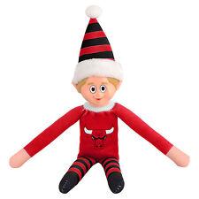 Chicago Bulls Plush Christmas Elf - NBA Doll On The Shelf Stuffed Toy