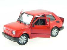 Fiat 126 Bambino red modelcar 24066 Welly 1:21