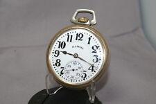 Rr Pocket Watch, Adj-6 Pos, Nice-Dial Runs 1918 Bunn Special 23j by Illinois 16s