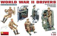 MODEL KIT FIGURES SET MIN35042 - Miniart 1:35 - WWII Drivers