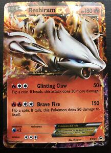 Reshiram EX BW36 Black & White Promo Ultra Rare EX Fire Basic Pokemon Card
