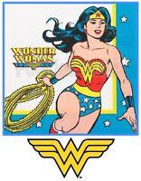 Wonder Woman Iron On T Shirt / Pillowcase Fabric Transfer #5 - Wonderwoman